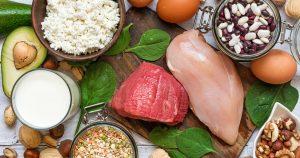 Cuales son los alimentos que contienen Proteínas